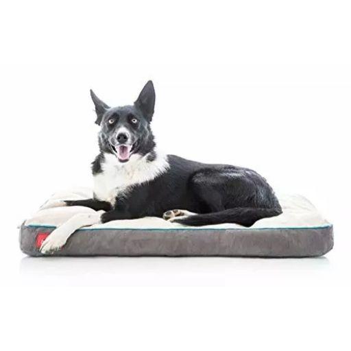 Brindle Waterproof Memory Foam Dog Bed