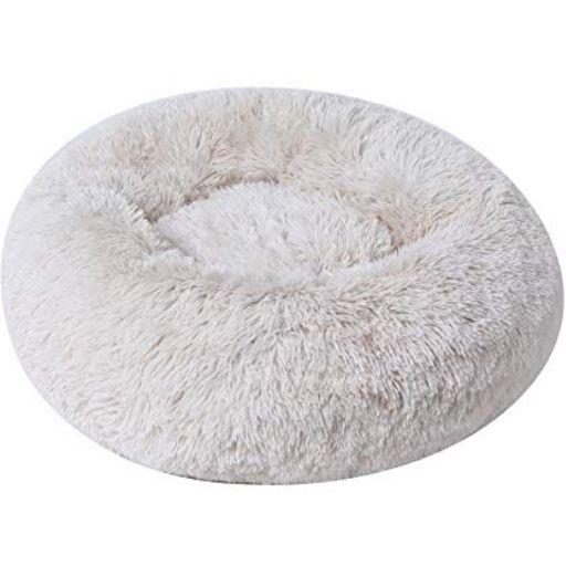 BinetGo Faux Fur Cushion Bed